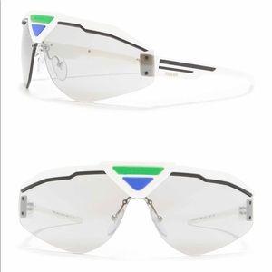 Prada 141mm Shield Sunglasses